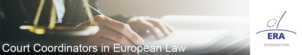 Advanced training for court coordinators in European law